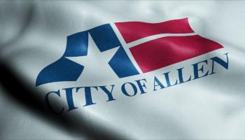 city of allen texas flag